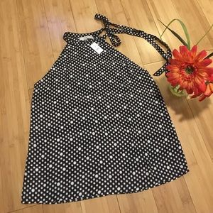 NWT Ann Taylor Lost Sleeveless Blouse Size Large